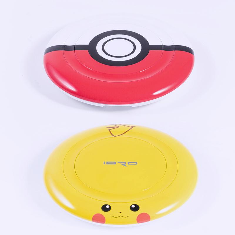 【開箱】隨時隨地捕捉皮卡丘吧!IDRO x Pokemon Wireless Charger 無線充電盤
